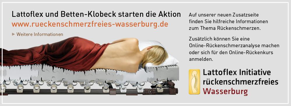 Rückenschmerzfreies Wasserburg